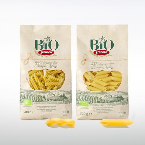 Fusilli e Penne Rigate Bio - Make Italy