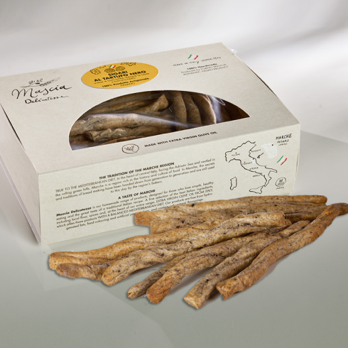 Cigar Snacks with Truffle Make Italy