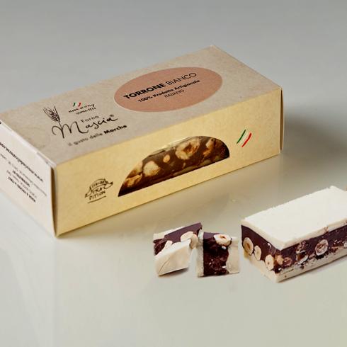 White Chocolate Nougat Make Italy