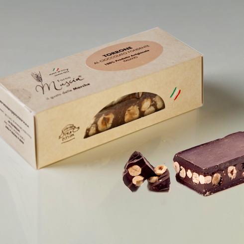 Dark Chocolate Nougat Make Italy