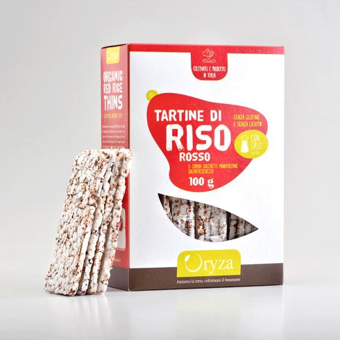 Rice Cakes gluten free - Make Italy