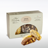 Almond and Cocoa Mixed Cantucci Make Italy