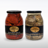 Dried Tomatoes and Artichokes with Mint Make Italy